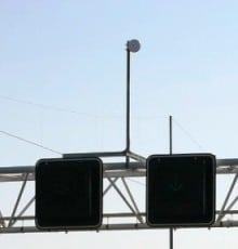 Antenne voor de traject controle