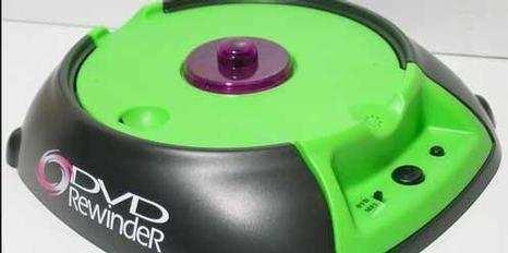 Pic van de DVD Rewinder