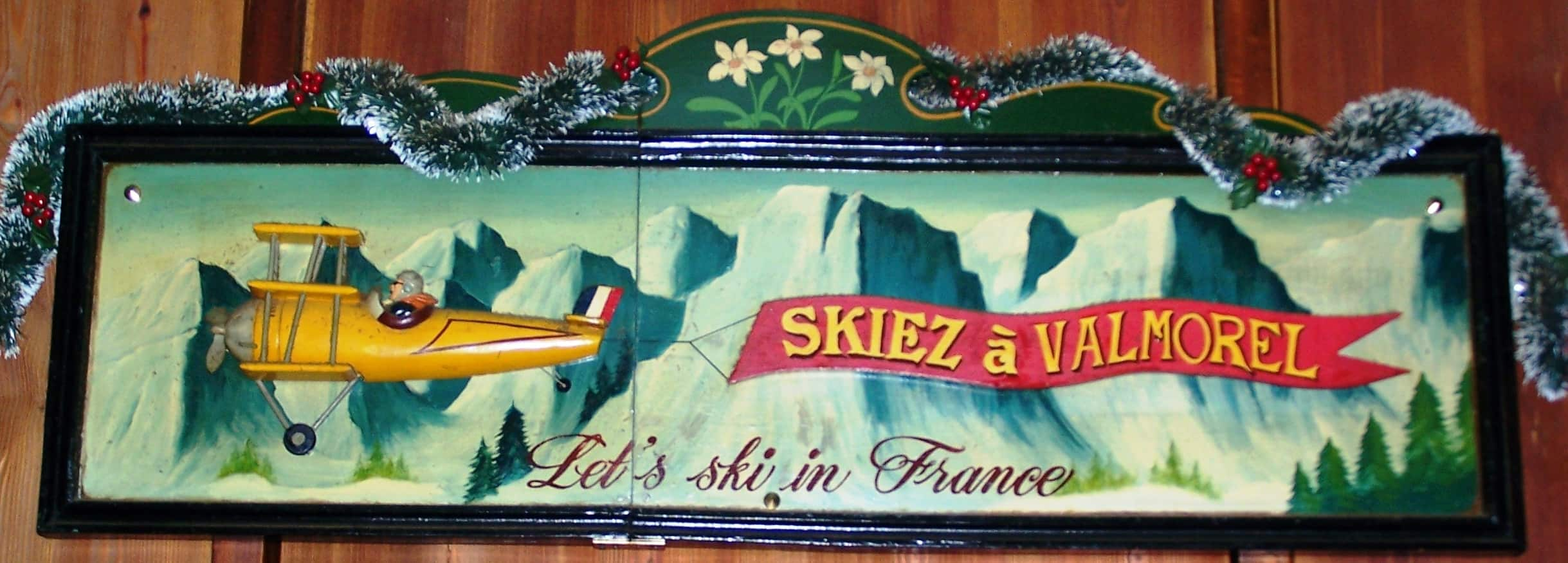 Let's ski in France