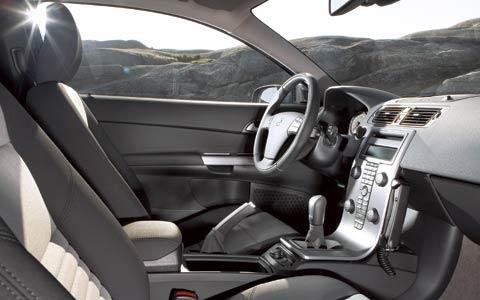 Interieur van de Volvo
