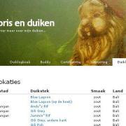 Duiklogboek in 2007