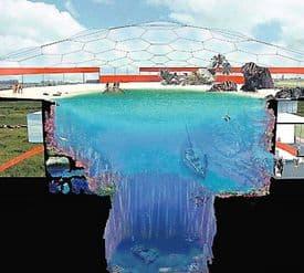 Idee van het zwembad
