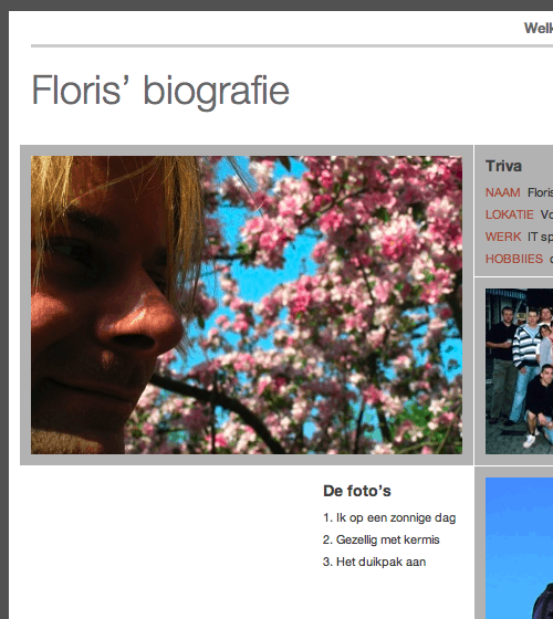 Floris website