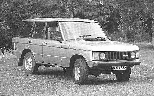 Monteverdi Range Rover