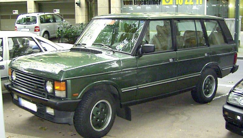 Het laatste model Range Rover Classic