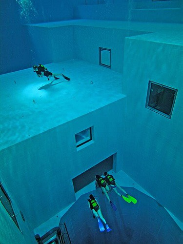 indoor duiken diving Nemo33