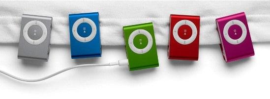iPod Shuffle reeks