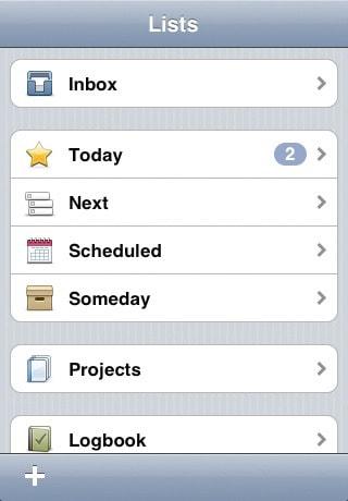 iPod lijst