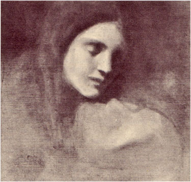 Marianna, Kahlil's Sister. Painting by Kahlil Gibran