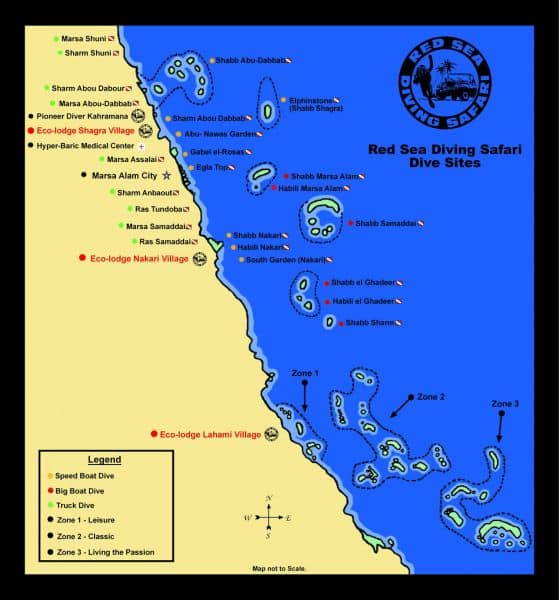 Alle Red Sea Diving Safari stekken