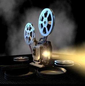 Bioscoop projector