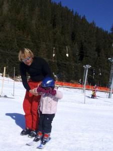 Met kleine Nancy