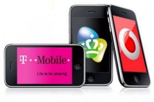 iPhone, T-Mobile, KPN en Vodafone