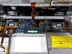 Rechterfan laptop