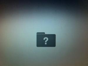 Mac vraagteken bij opstarten