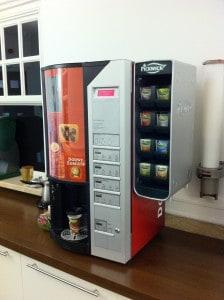 Douwe Egberts, koffieautomaat