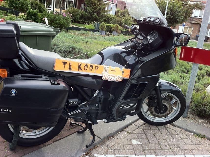 De BMW motor in Zandvoort