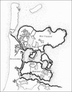 West-Friesland rond 1550