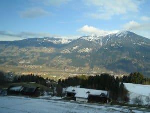 Een berg in de Zillertal
