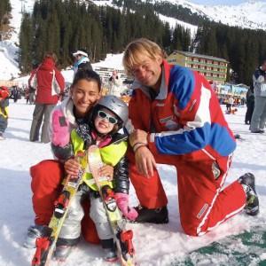 Skileraren Floris & Sylvia