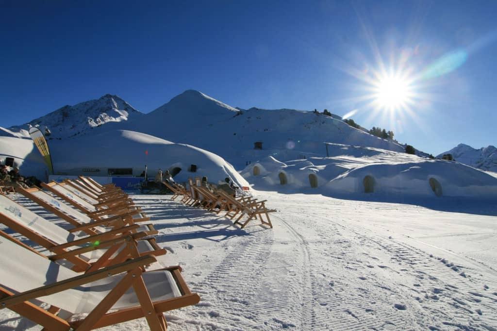 Mayrhofen, Zon & ligstoelen