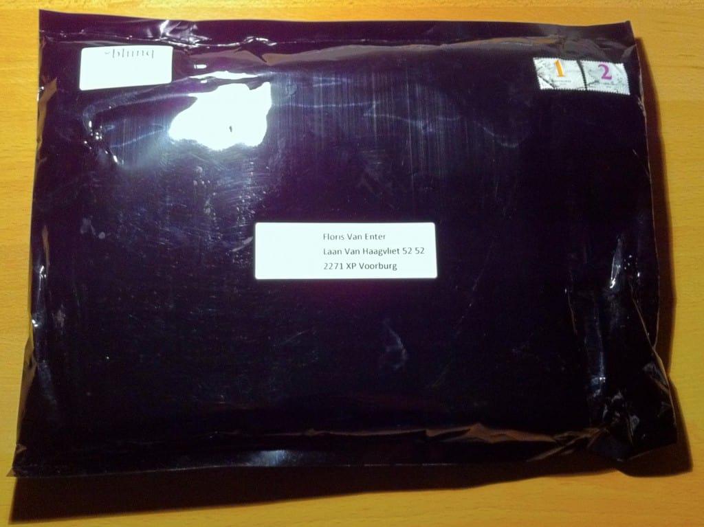De envelop :)