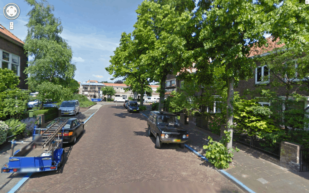 Range Rover - Laan van Haagvliet