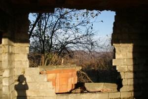 Huis ruïne