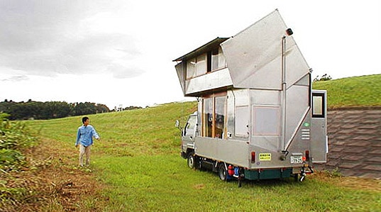 Japanese camper, mobile home