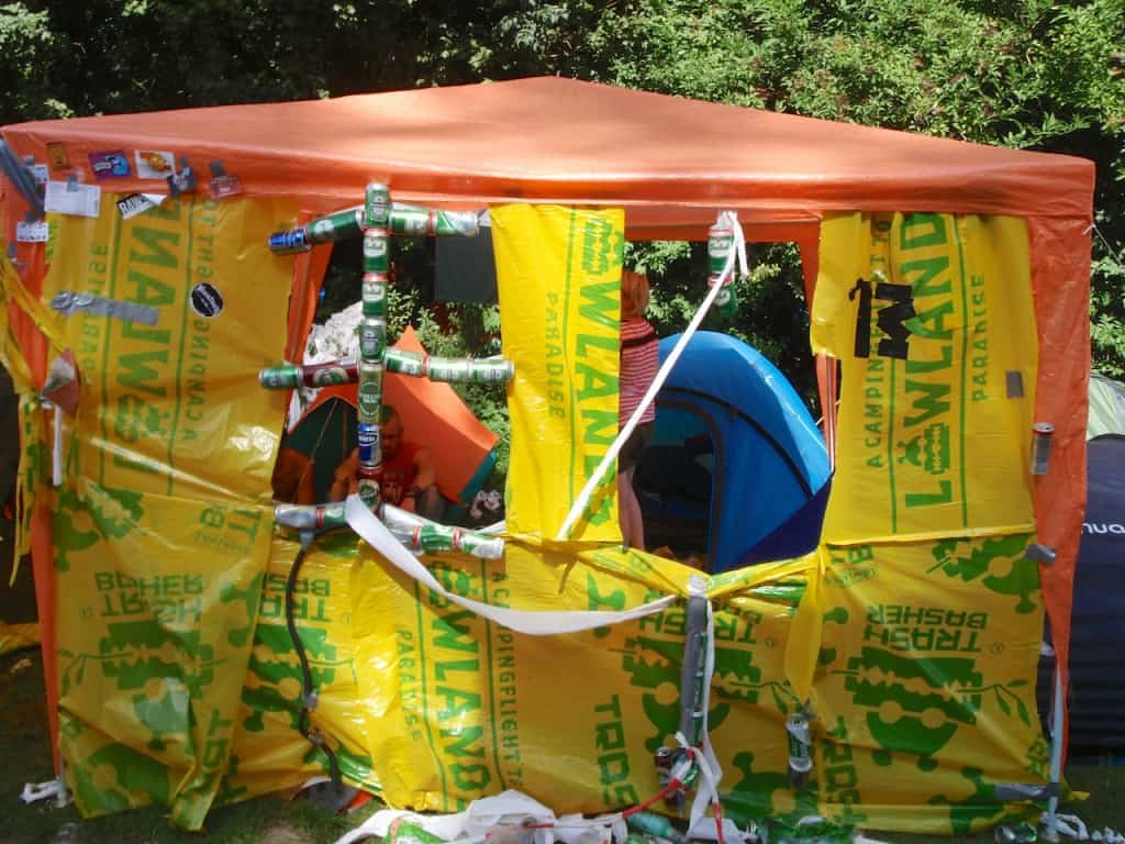 LL2012 - camping kunst, detail
