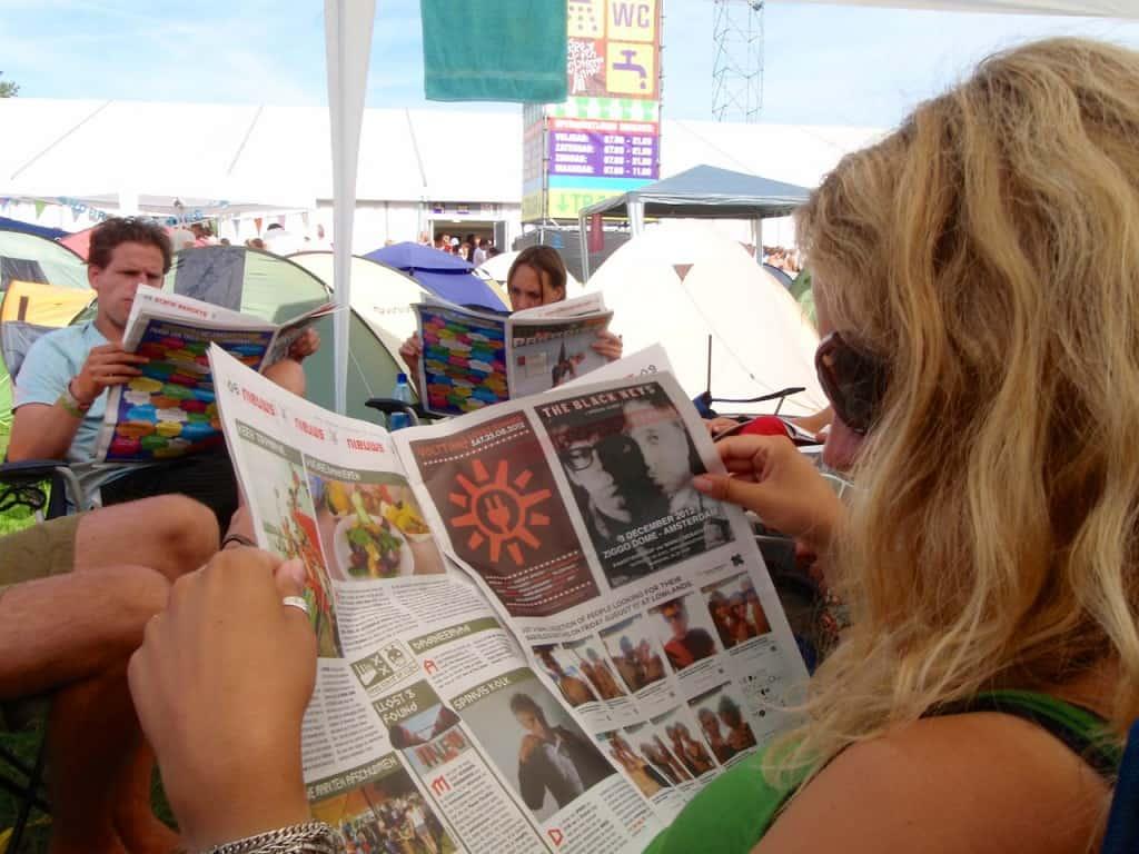 LL2012 - krantje lezen