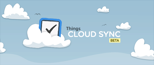Cloud Sync Things beta