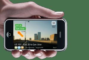 iPhone navigatie