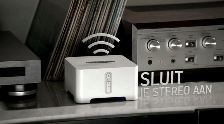 Sonos aan de stereo