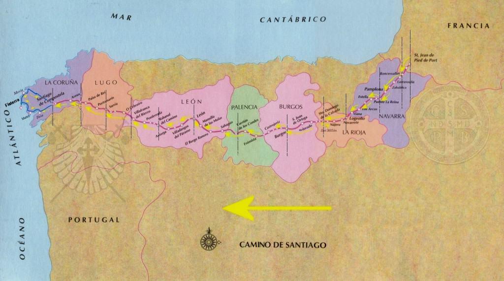 Camino Santiago, French Way