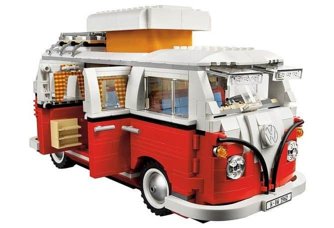VW T1 bus met lego