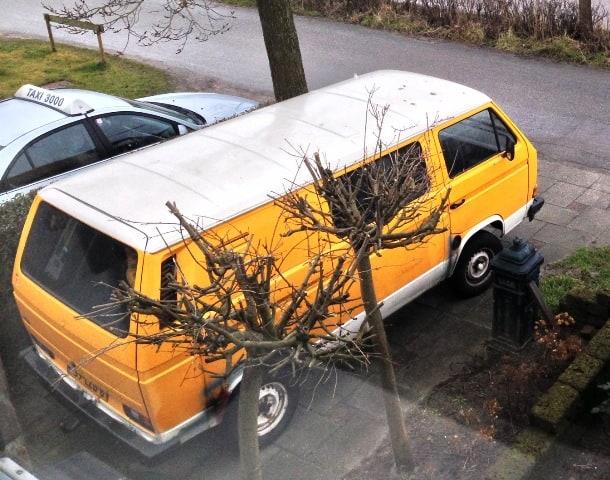 De bus van boven