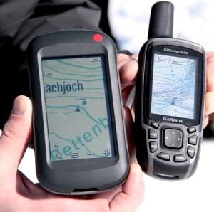 GPS apparaten