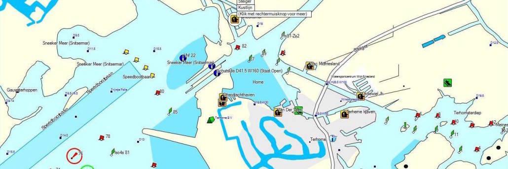 Waterkaart voorbeeld