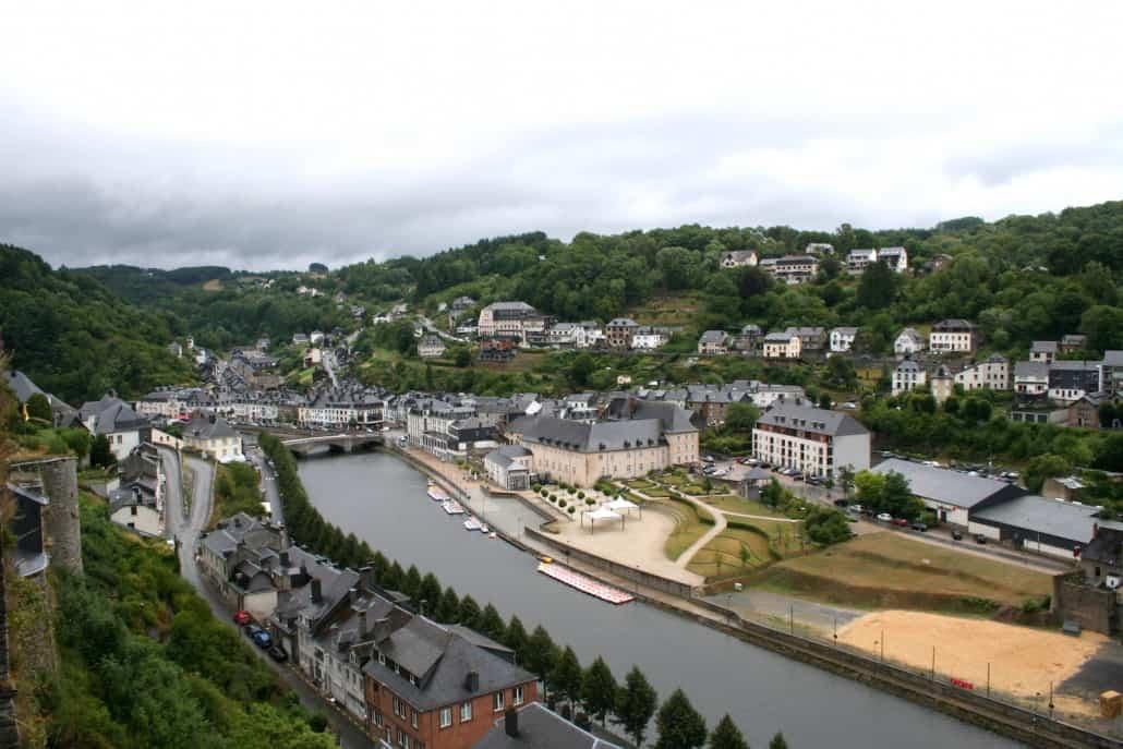 Bouillon vanaf het kasteel
