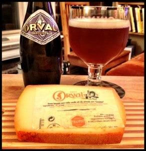 Bier en kaas van Orval