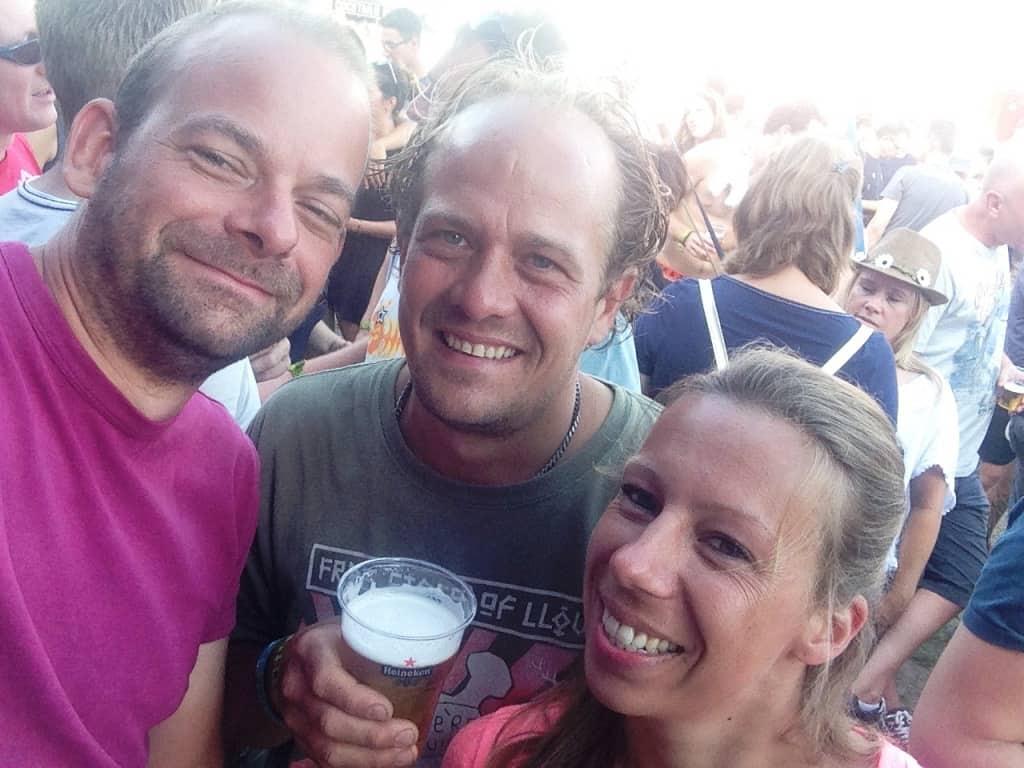 Het Lowlands 2015 trio