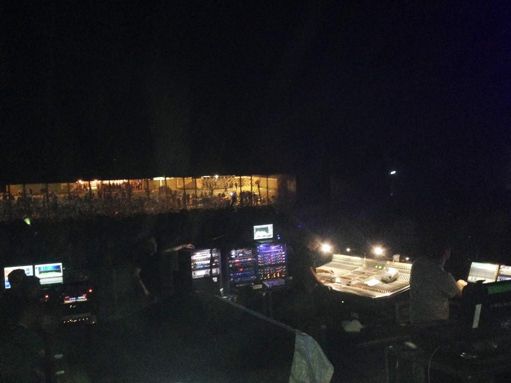 Geluid & licht bij Chemical Brothers