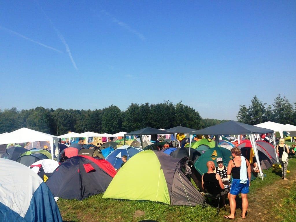 Weer volle camping!