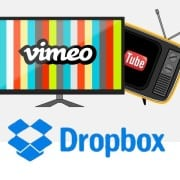 Dropbox, Vimeo of Youtube