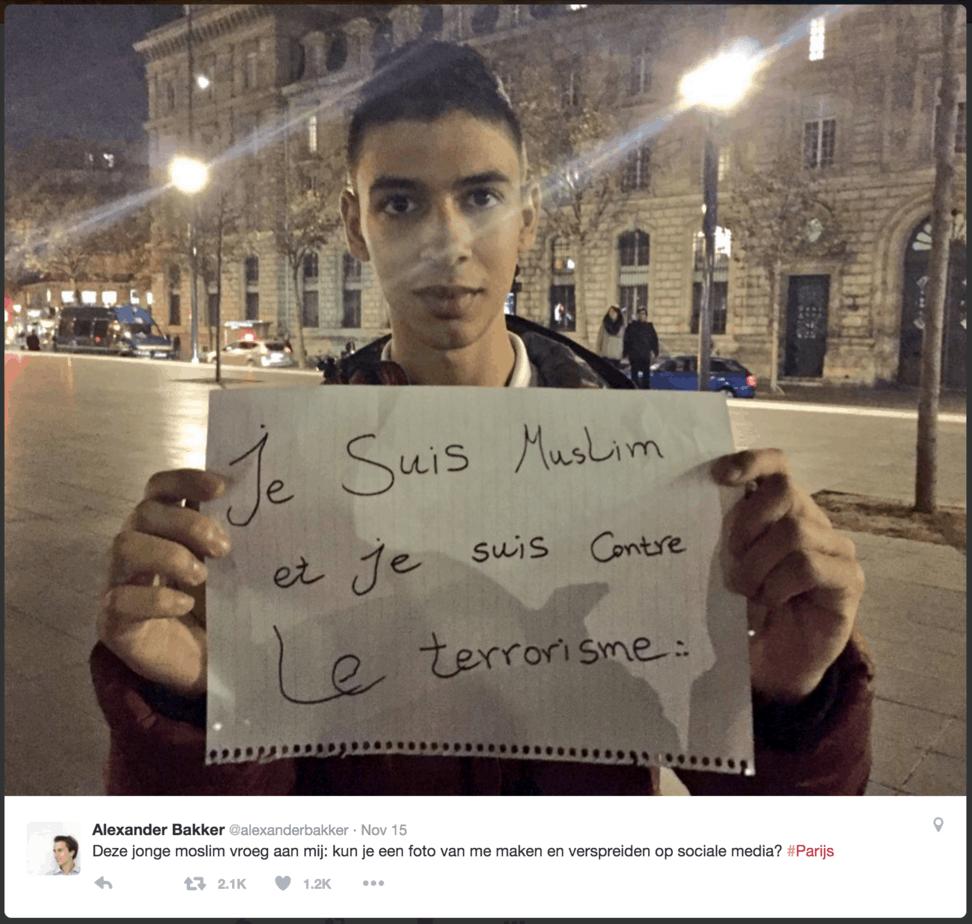 Moslim op twitter